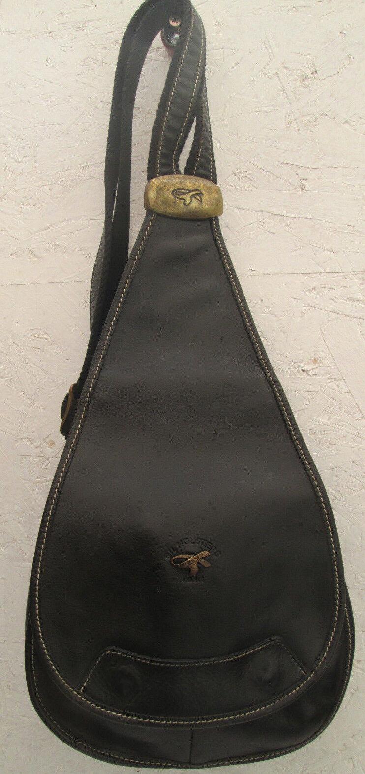 -AUTHENTIQUE sac à dos GIL HOLSTERS  cuir TBEG vintage