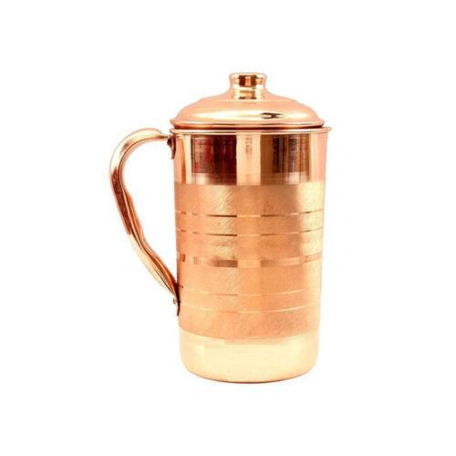 Copper Jugs /& Pitchers Tumbler Mug Glass Bottle Gift Health Benefits Ayurveda