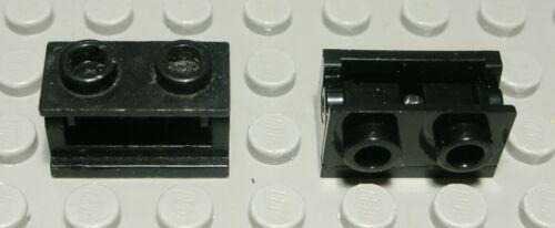 Lego Stein Scharnier 1x2 Schwarz 2 Stück 645 #