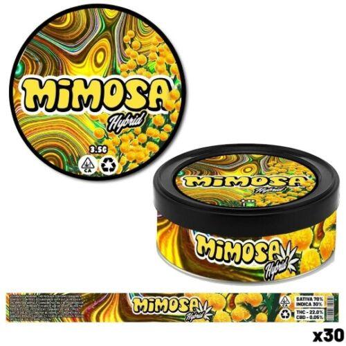Cali Pressitin Tins Weed Gras Cannabis Boxen Dosen Gelato #41, Mimosa...