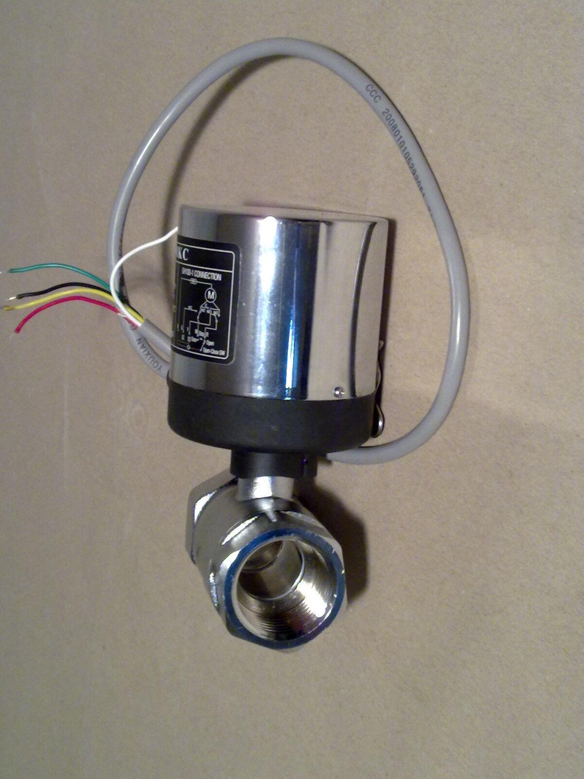 Motorventil 2 Wege (Kugelventil,Endschalter,Solar)1 2