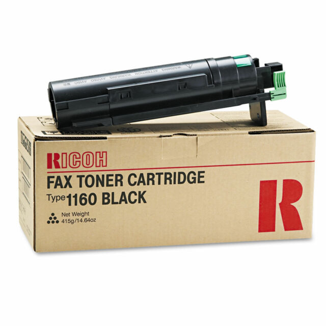 Genuine Ricoh  3310L 3320 4410L 4420 4430 Black Toner Type 1160  430347 89875