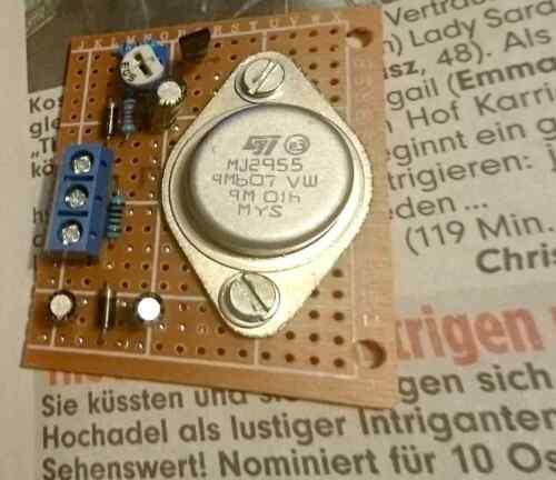 bis 16V//10A Analoger Bremsbaustein für Spuren bis H0