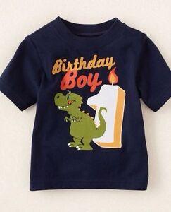 NEW 1st 2nd 3rd 4th 5th BIRTHDAY Boys Shirt 9 12 18 24 Months 2T