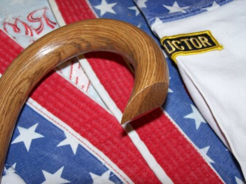 MARTIAL ARTS-MADE IN THE USA  OAK CANE-STREET DEFENSE COMBAT CANE SELF DEFENSE