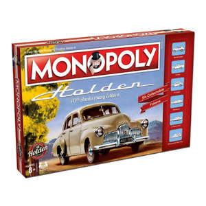Monopoly Holden 70th Anniversary Edition Board Game NEW