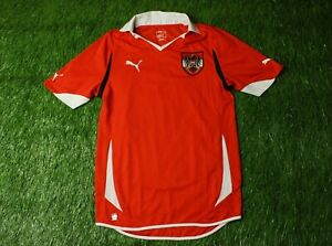separation shoes 66442 05a91 AUSTRIA NATIONAL TEAM 2010/2011 FOOTBALL SHIRT JERSEY HOME ...