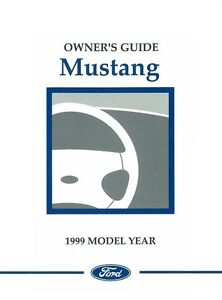 1999 ford mustang owners manual user guide w svt cobra supplement rh ebay ie 2015 ford mustang owners guide 2016 ford mustang owners manual