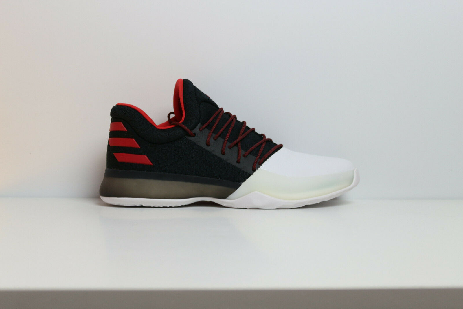 Adidas Harden Vol.1 BW0546 Black Red White Basketball Volleyball James Men shoes