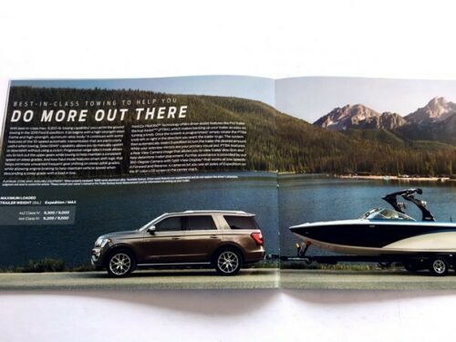 2019 Ford Expedition 32-page Factory Original Car Sales Brochure Catalog