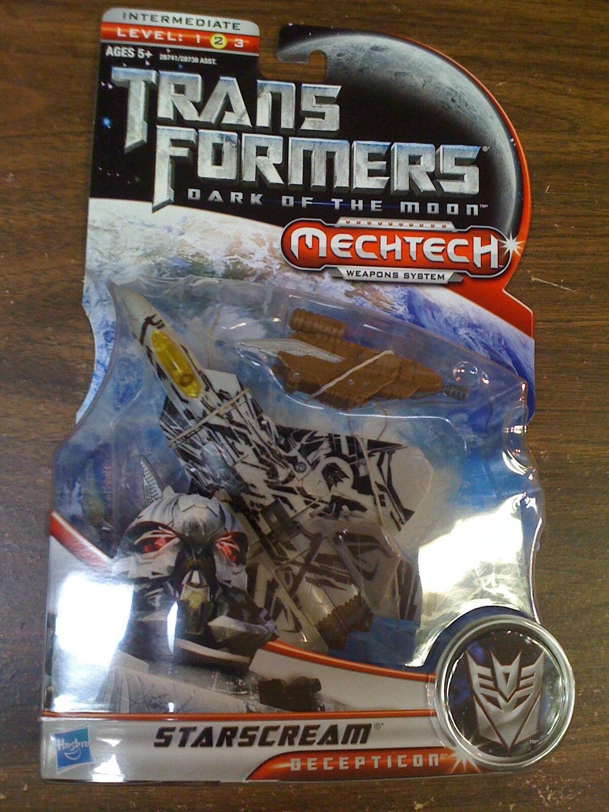 Transformers DOTM Starscream Figure Mechtech Deluxe Class NEW FREE SHIP US