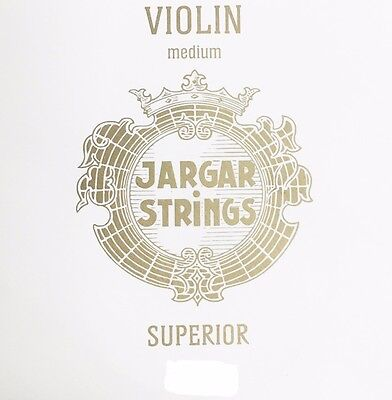 Genuine Jargar Violin Stinrg Set 4//4 E Ball Medium