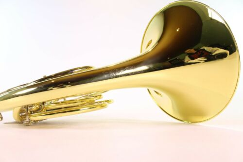 Conn Model 7D Geyer Wrap Yellow Brass French Horn MINT CONDITION C.G
