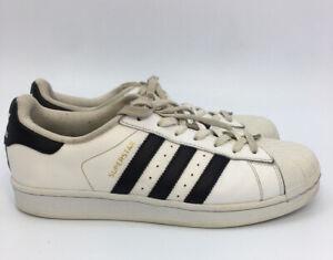 tenedor Capilla telescopio  Adidas Superstar La Marque Aux 3 Bands White Black Sneaker Men's Sz US 8  1/2 B7C | eBay