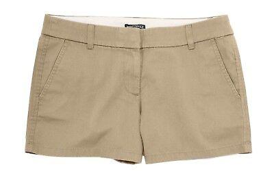 """5/"""" British Khaki Cotton Chino Shorts J.Crew Factory Women/'s 10 NWT"""