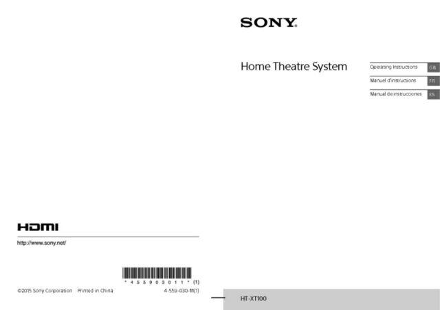 Sony Ht