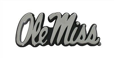 Ole Miss METAL Black Hitch Cover AMG