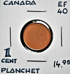 Blank Planchet - Canada One Cent
