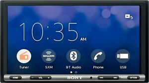 """Sony - 7"""" - Android Auto/Apple® CarPlay- Built-in Bluetooth - In-Dash Digit..."""