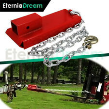 For 2 Insert Forklift Hitch Receiver Pallet Forks Trailer Towing Adapter New