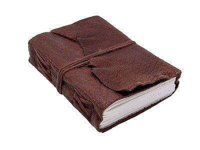 Lederbuch Terra - Tagebuch Notizbuch Reisetagebuch Büffelleder XXL