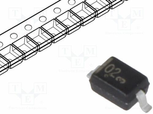 Zener SMD 0,3W 3V Rolle,Band SOD323  einzelne Diode MM3Z3V0T1G Zener-Diod Diode