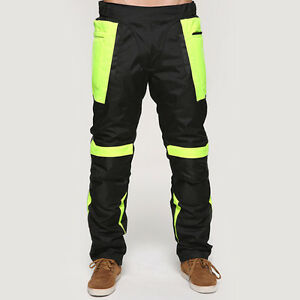New Motorcycle Pants Winter Warm Safe Hi-Vis Trousers Motorbike Sport Equipment