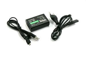Caricabatterie Alimentatore per Sony PS Vita 2000 Charger PSV PSVITA Caricatore