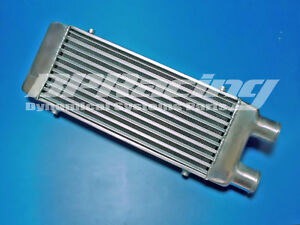 500-x-180-x-65mm-SAME-SIDE-FRONT-MOUNT-TURBO-ALUMINUM-INTERCOOLER-IN-OUTLET-2-5-034