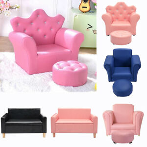 Admirable Details About Kids Padded Pu Leather Pink Sofa Arm Chair Lounge Arm Chaise Furniture For Girls Camellatalisay Diy Chair Ideas Camellatalisaycom
