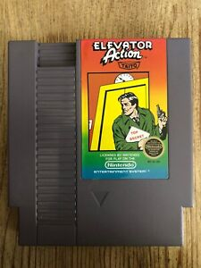Elevator-Action-5-Screws-Nes-Nintendo-Game-Only-Very-Good-Condition