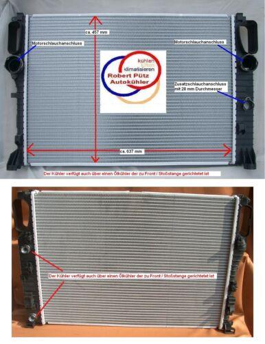 Kühler Wasserkühler Erstausrüsterversion C219 A5000221131 S211 Mercedes W211