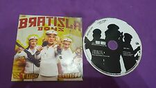 Bratisla Boys Stach Made in France press 2002 card sleeve cd usato