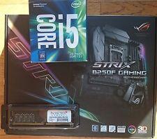 ASUS ROG STRIX B250F Board Intel Kaby Lake i5 7400 3.0GHz CPU 16GB DDR4 COMBO