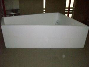 Hoesch Vasche Da Bagno Prezzi : Styropor badewannenträger passend zu hoesch trapez cm ebay