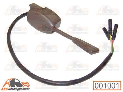 COMMODO de clignotant marron 1001 sans bruiteur pour Citroen 2CV /& MEHARI