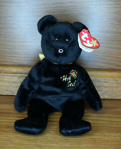 Ty Beanie Baby The End Bear Y2K with Errors