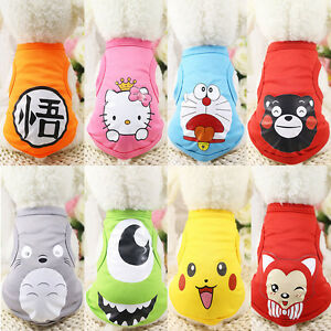 New-Small-Pet-Dog-Clothes-Fashion-Costume-Vest-Puppy-Cat-T-Shirt-Summer-Apparel