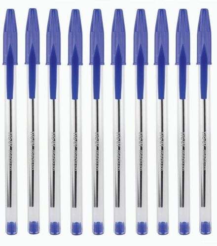 1000 X QUALITY BLUE Medium Tip BALLPOINT PENS STATIONARY SCHOOL OFFICE USE