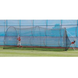 Heater-Sports-Power-Alley-22-Ft-Batting-Cage-Reconditioned