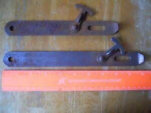 "oldBarn Door Thumb Latch Gate handle Large 8 3//8/"" vintage rusticsteellockable"