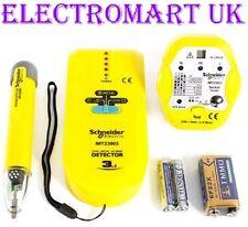 Voltaje Cable de tubo metal Stud Pared Detector 13a Socket Tester Volt Stick Pluma