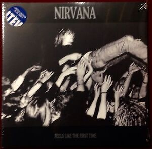 Nirvana-Feels-Like-The-First-Time-LIVE-2LP-Vinyl-New-180gm-Blue-Limited-Ed