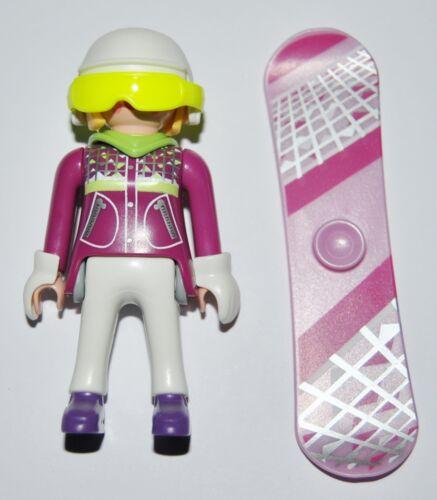 S11M09 Snowboarder playmobil,serie 11 9147