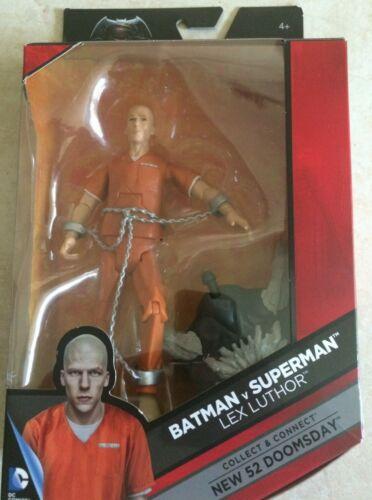 DC Multiverse Doomsday Series Lex Luther Prison Suit W// Doomsday Torso NIB