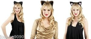 Cat-Ears-Tiara-Headband-Animal-Halloween-Hen-Party-Fancy-Dress-Costume-Accessory