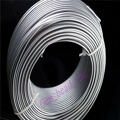 1mm 1.5mm 2mm Aluminum Wire Jewelery Making Craft Wrap 2Meter 15Color U Chooce