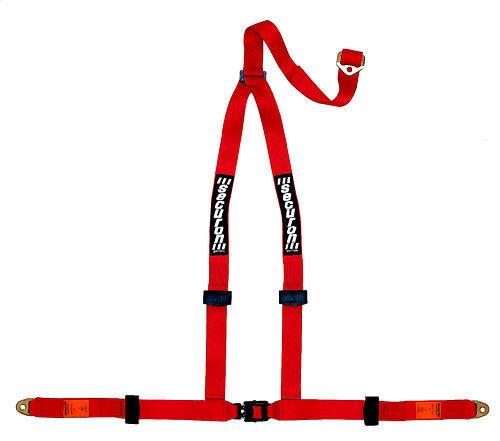 red 3point harnais avec plaques d/'ancrage Nouveau SECURON 628