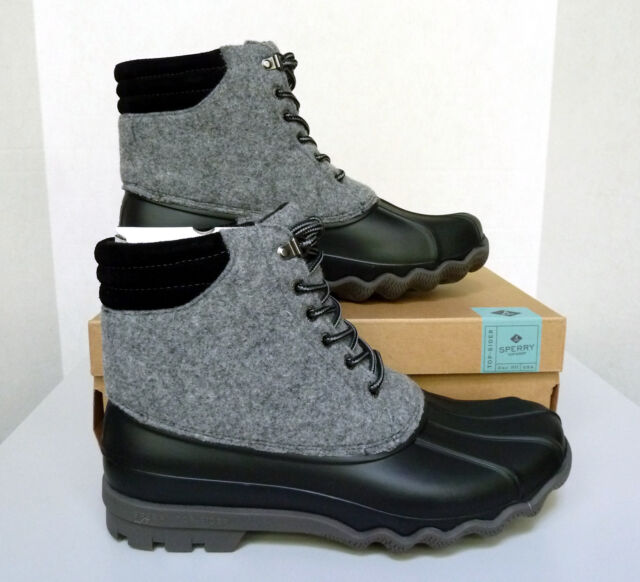 6962196a680 New Men`s Sperry Avenue Wool Duck Boots STS17578