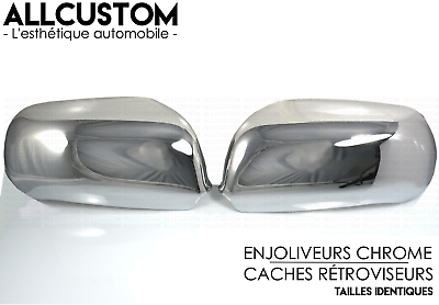Chrome Door Mirror Covers Caps Wings Molding Side Trim For Audi A4 B5 1994-2001
